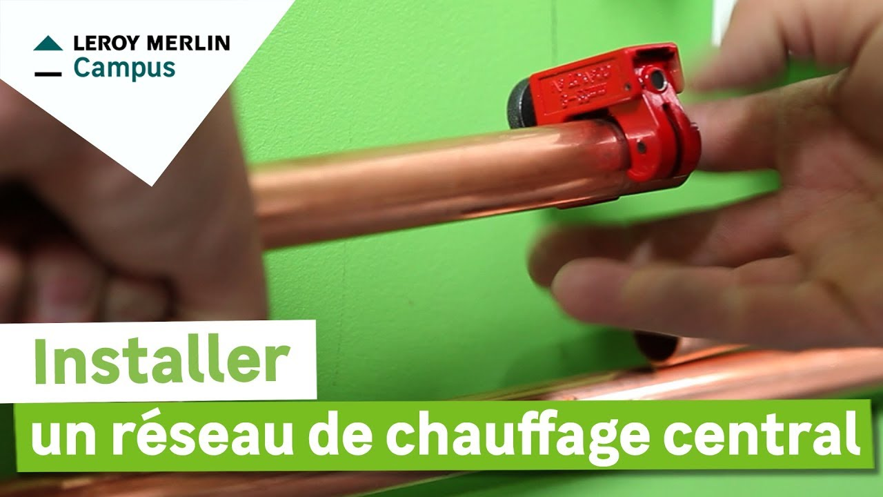 Colle Thermofusible Leroy Merlin comment installer un réseau de chauffage central ? leroy merlin