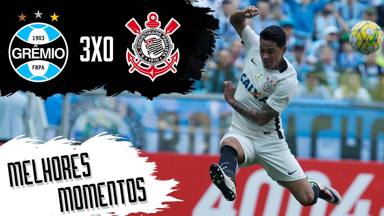 Grêmio 3x0 Corinthians - Melhores Momentos - Campeonato Brasileiro 2016 c695741bc39dd