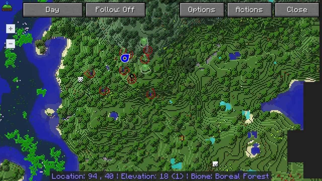 Journeymap map voor minecraft minecraft mods - Ondersteuning fer smeden ...