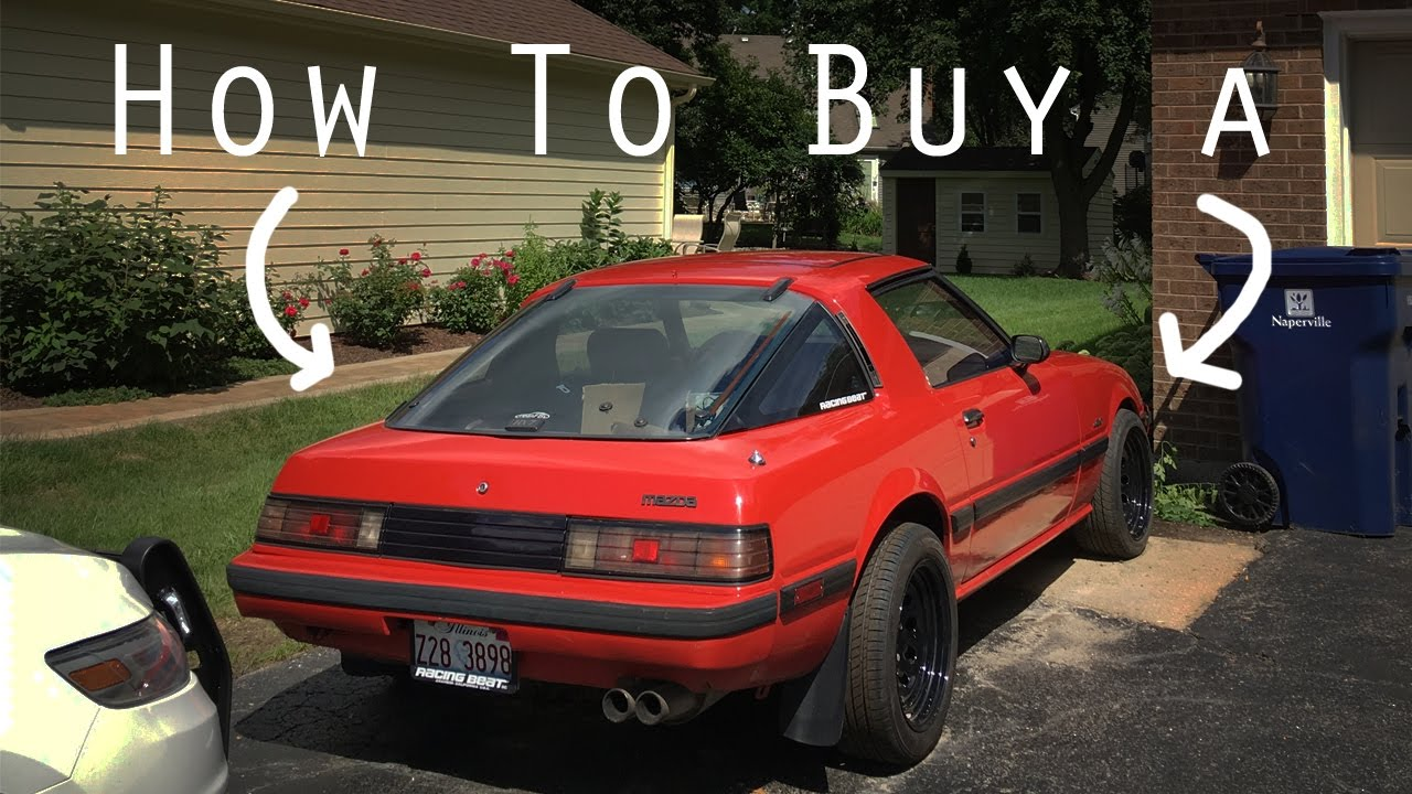 How To A Mazda Rx7 Or Any Rotary Car