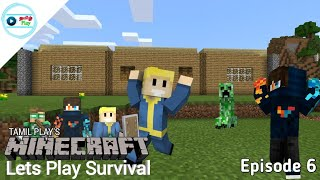 Tamil Play's Minecraft Lets Play Survival - Episode 6