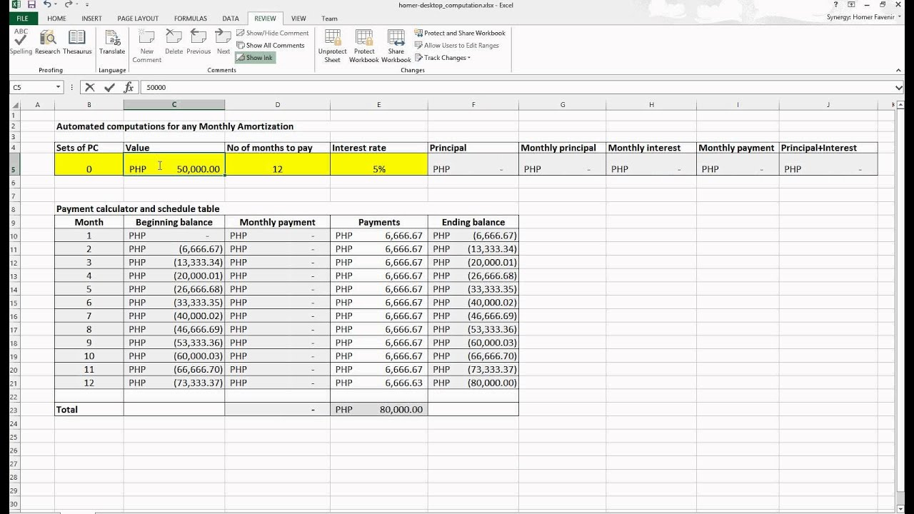 amazon com georges excel loan calculator v3 1 mortgage home