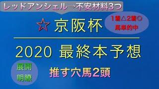 【競馬予想】 京阪杯 2020 本予想