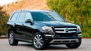 девочка 9 лет управляет внедорожником Mercedes-Benz GL 350 BlueTEC