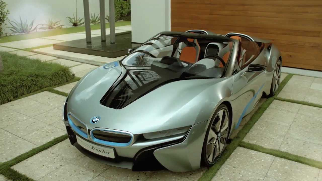 Bmw I8 Concept Spyder Service Production By Capture Miami Youtube