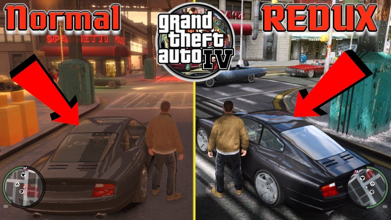 GTA 4 REDUX MOD | HD Texture | Ultimate Realstic Graphics | (with Download  link)|
