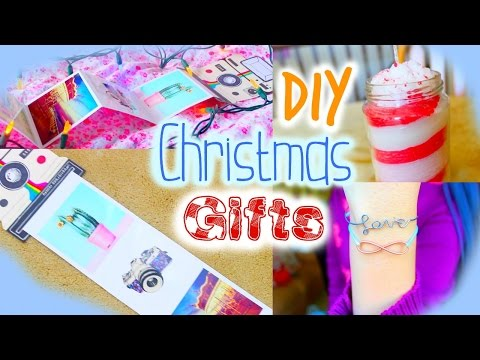 DIY Christmas Gifts for Friends, Mom, Teachers, Boyfriends / birthday gifts