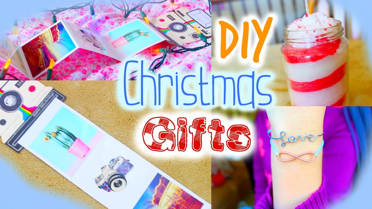 DIY Christmas Gifts For Friends Mom Teachers Boyfriends Birthday