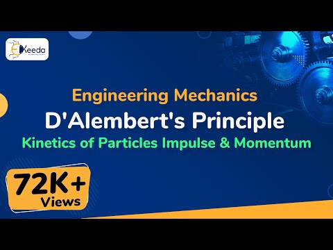 D'Alemberts Principle - Kinetics of Particle Force and Acceleration - Engineering Mechanics