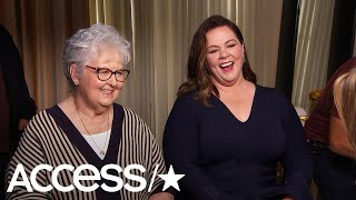 Melissa McCarthy's Mom Had A Blast Mingling With Stars At The Oscar Luncheon | Access