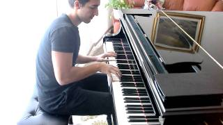"""Fletcher Memorial Home"" of Pink Floyd piano version by davixpiano"