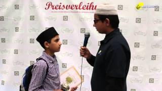 Rameez Shafiq Shahid - Miyare Khas - Salana Ijtema 2015 - Majlis Atfal-Ul-Ahmadiyya Deutschland