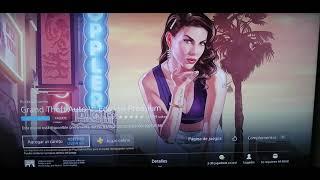 Gratis GTA V online para ps4 y más contenido ( más descuentos)