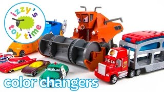Cars for Kids | Hot Wheels and Disney Pixar Cars Color Changers! Toy Cars for Kids