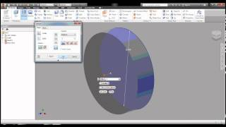 SI Autodesk Inventor Hamburger Tutorial Part 1