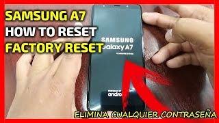 How to hard reset samsung galaxy a7 2018 sm a750 videos / InfiniTube