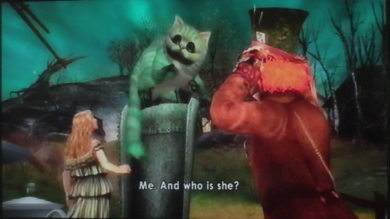 Mad Alice In Wonderland Game