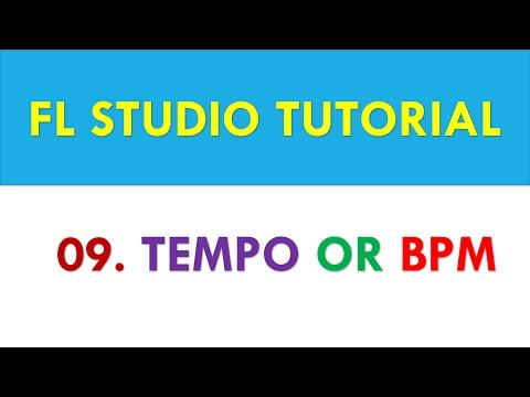 fl studio 12 stutorial 09 tempo or bpm or beat per minute in fl studio youtube. Black Bedroom Furniture Sets. Home Design Ideas