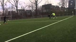 Private Football Training with Darren Sidoel, Ajax. Voetbal Techniektraining Jason Vermeer