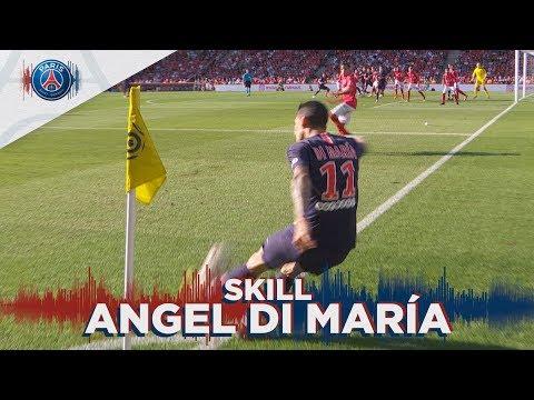 SKILL / GESTE TECHNIQUE : AMAZING GOAL BY ANGEL DI MARIA !