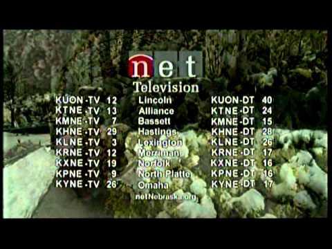 KPNE-9, North Platte, NE, Nebraska PBS NET Television, Sign Off, May 26, 2008