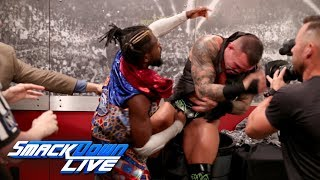 Randy Orton brutally attacks Kofi Kingston: SmackDown LIVE, Aug. 27, 2019