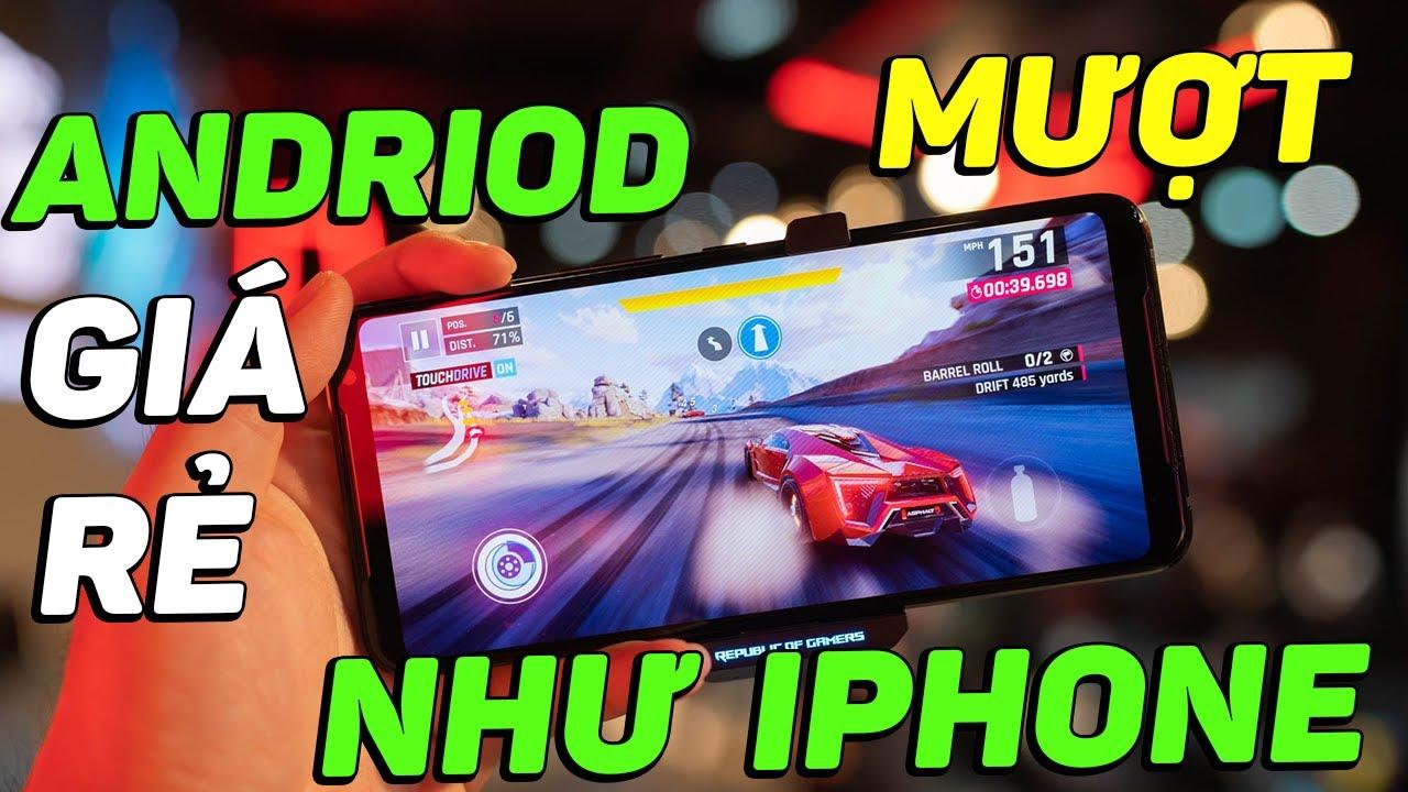 iPhone chiến game ngon hơn điện thoại Android GIÁ RẺ chấm dứt rồi???