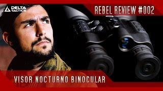 REBEL REVIEW#002 -- Visor nocturno binocular Delta Tactics -- Rebel Replicas Airsoft España