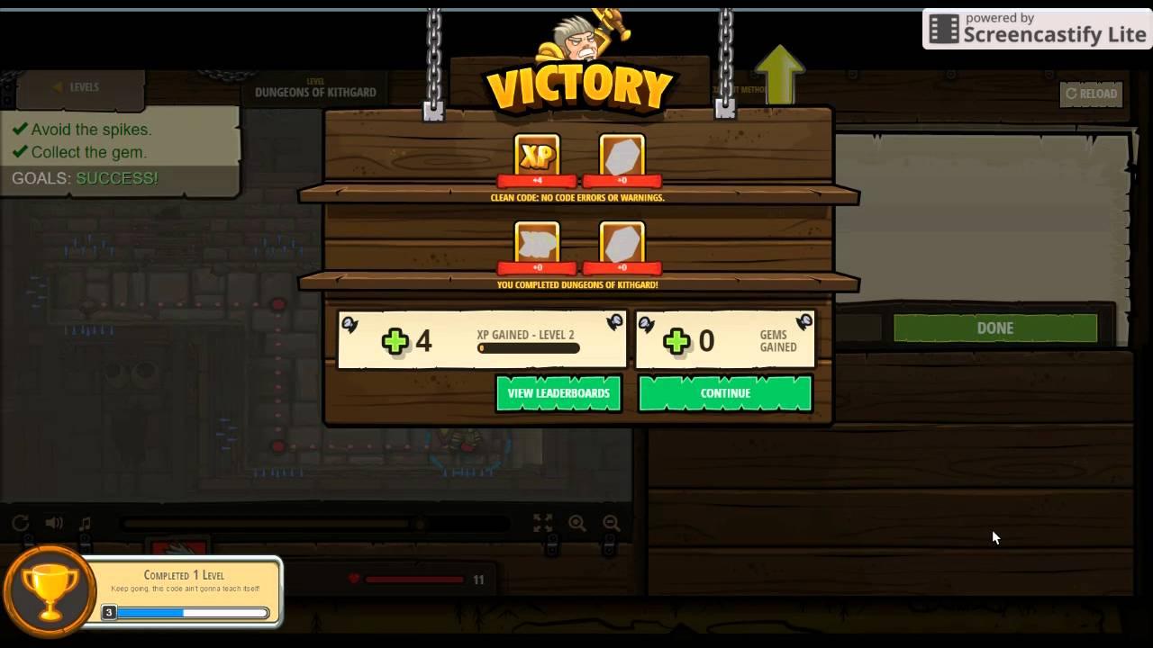 level 1 - 2 | code combat