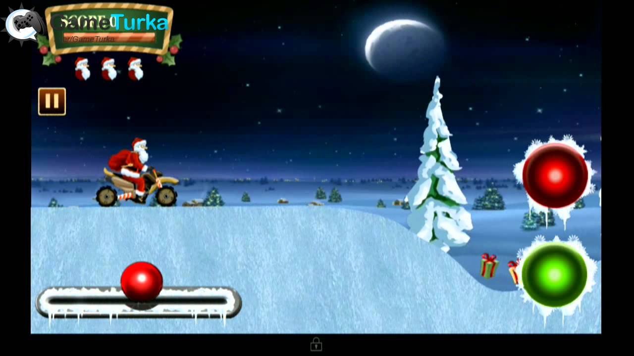 Santa Rider – Racing Game Android GamePlay