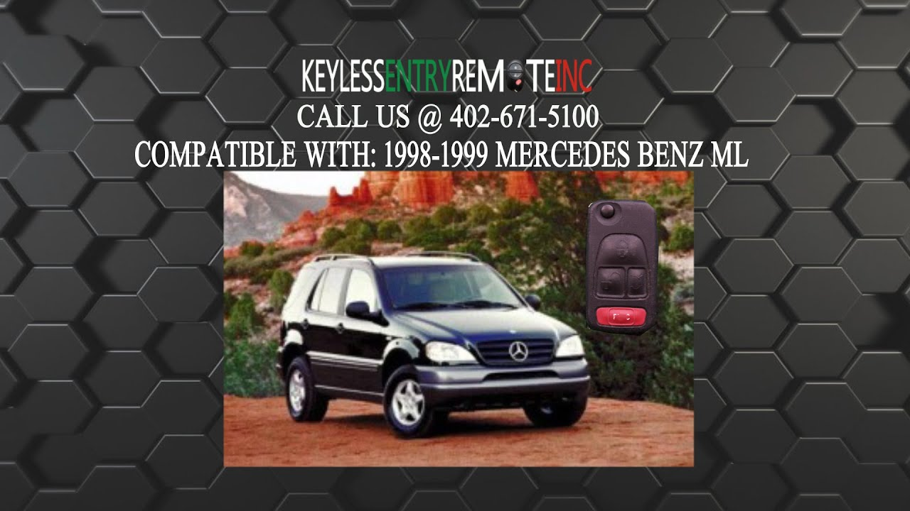How to replace mercedes benz ml key fob battery 1998 1999 for How to change mercedes benz key battery