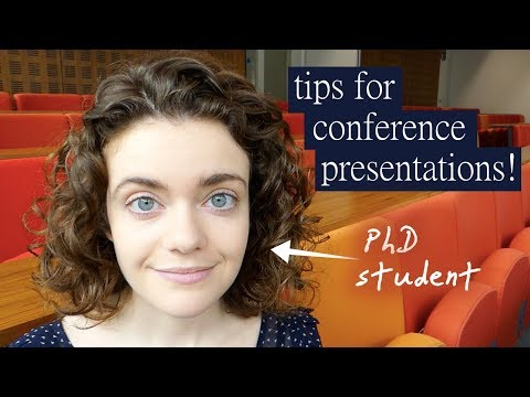 Tips for Conference Presenting!