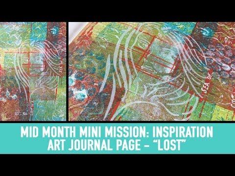 Mid Month Mini Mission Inspiration - Lost