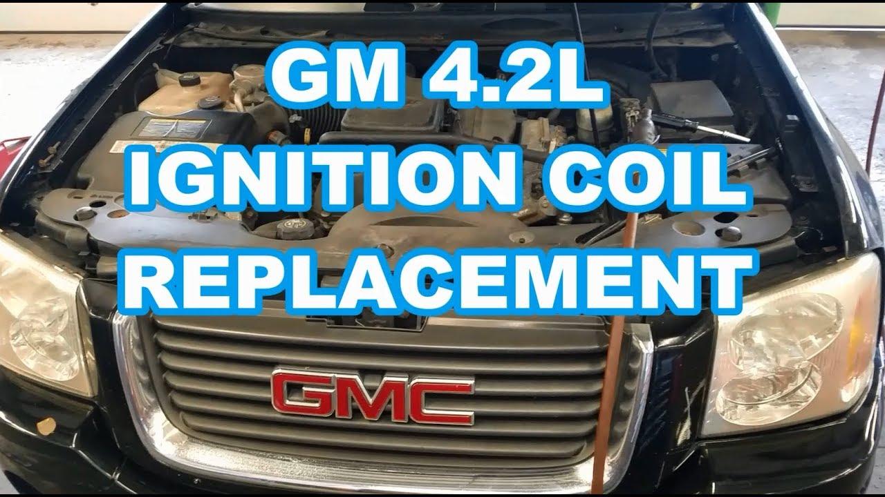 4 2l coil replacement gmc envoy chevy trailblazer spark plugs ignition [ 1280 x 720 Pixel ]