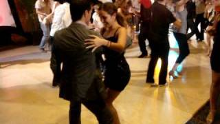 Oliver Pineda and lil Denisse Cambria at the World Salsa Championship 2009