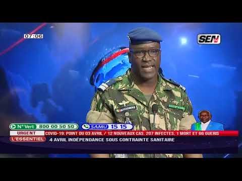 Le Colonel Pape Diouf revient sur les contraintes avec le co