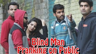 Blind Man Commenting on Girl and Blaming Another Prank | THF - Ab Mauj Legi Dilli thumbnail