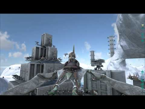 ARK  Survival Evolved Iceberg Fortress