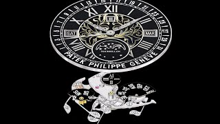 Patek Philippe TechNews: Sky Moon Tourbillon Section 2