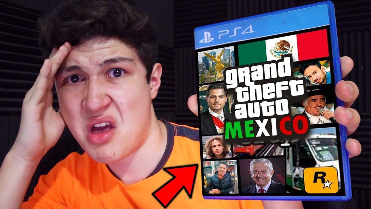 Juego al Nuevo GTA MÉXICO!! Grand Theft Auto 5 - GTA V Mods
