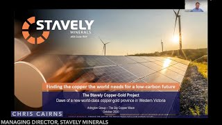 Chris Cairns, Stavely Minerals | Porphyry Wave Riders Virtual Conference