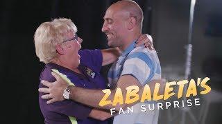 رياضة  زاباليتا يفسد مفاجأة مشجعي السيتي له