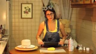 Tarta Minion Con Fondant   Carla Super Cookies