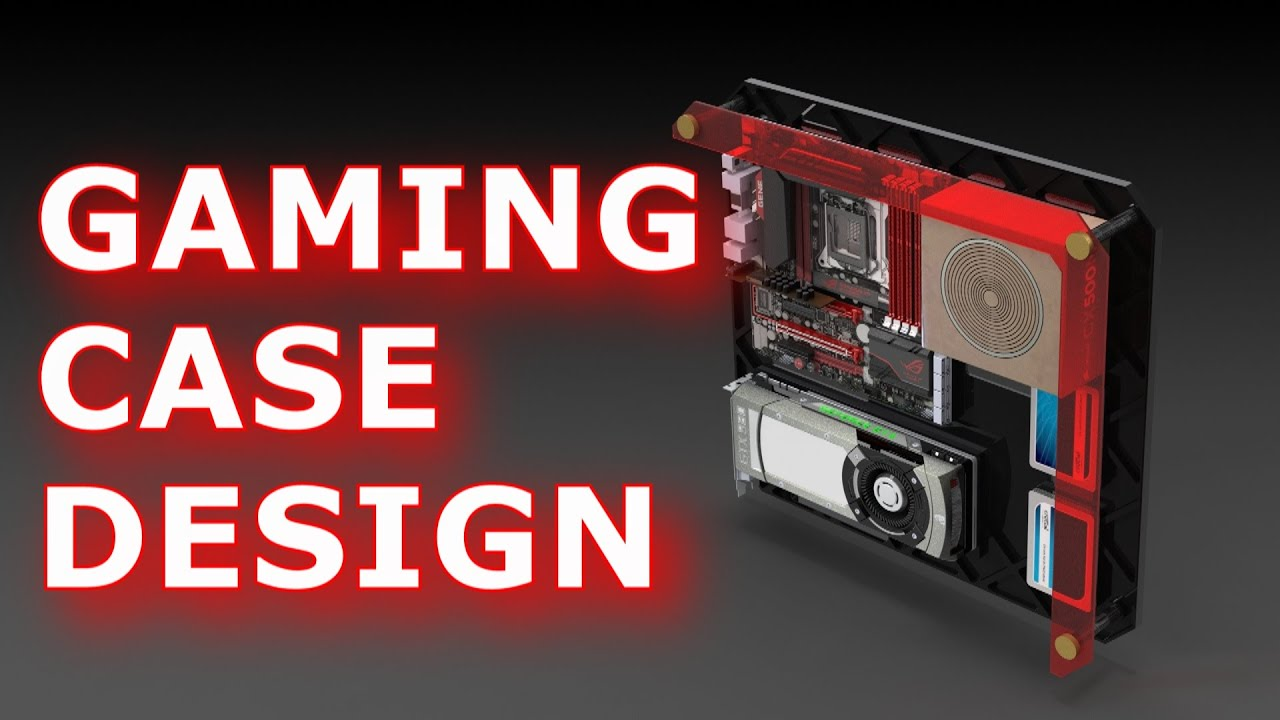 Designing A Gaming Pc Case Wall Mounted Free Plans