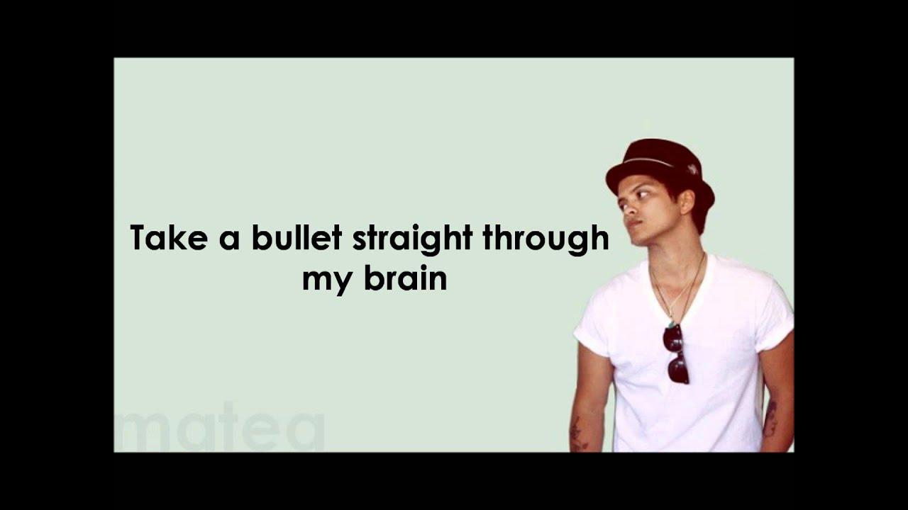 grenade lyrics bruno mars
