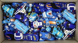 박스속에 파란색 장난감이 가득!  꺼내보고 살펴보고 마…