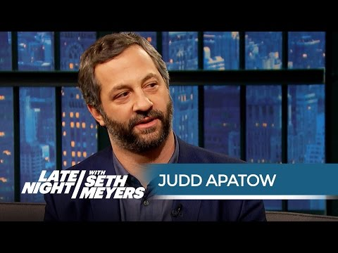 Judd Apatow on Being Critical of Bill Cosby - Late Night with Seth Meyers