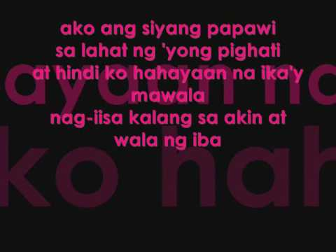iKAW SANA BY: REPABLIKAN REP. CHiE