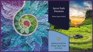 How it was made - The Spiral Path Mandala (DST / Time-lapse)