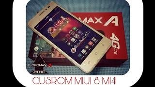 Custom ROM MIUI 8 MI4I Pro Andromax A (a16c3h) 4G LTE